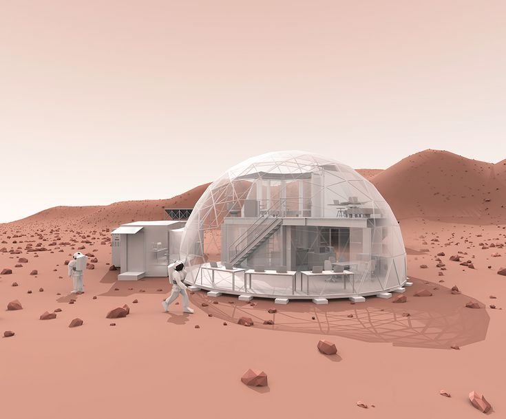What It Could Be Like to Live on Mars ...