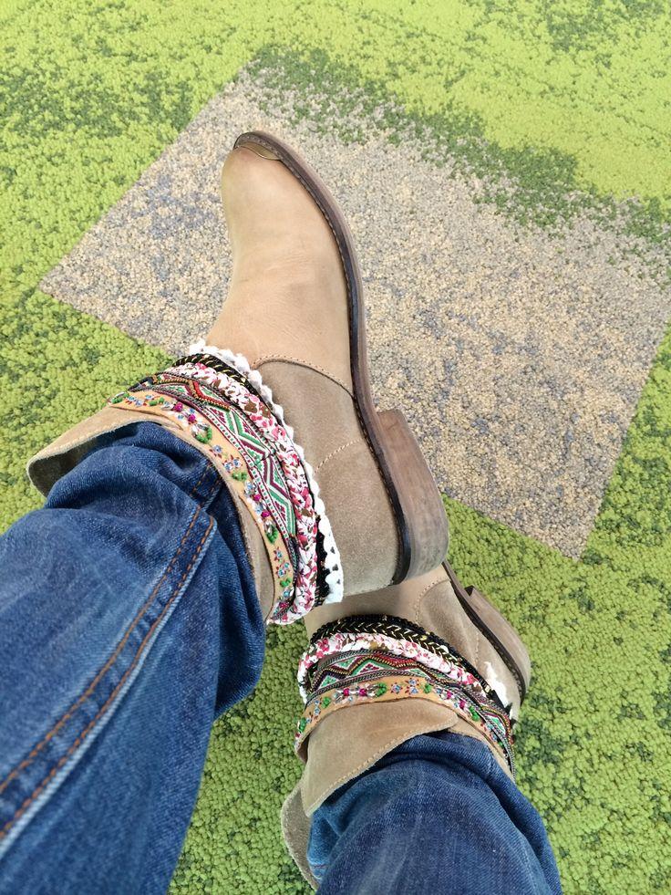 Tuneando unas botas