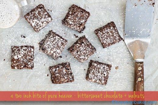 #Glutenfree Ooey Gooey Brownies are the Perfect Balance | @Susan Salzman | www.theurbanbaker.comGlutenfree Ooey