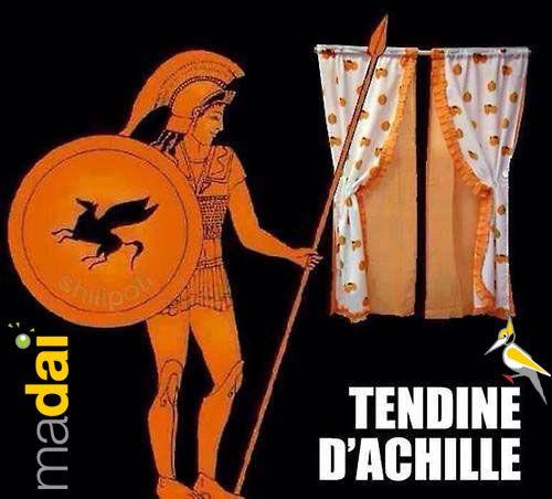 Tendine d'Achille... #madai