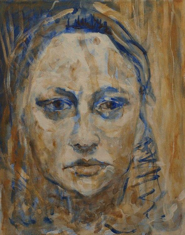 Bathroom self-portrait (ANNA BARDZKA)