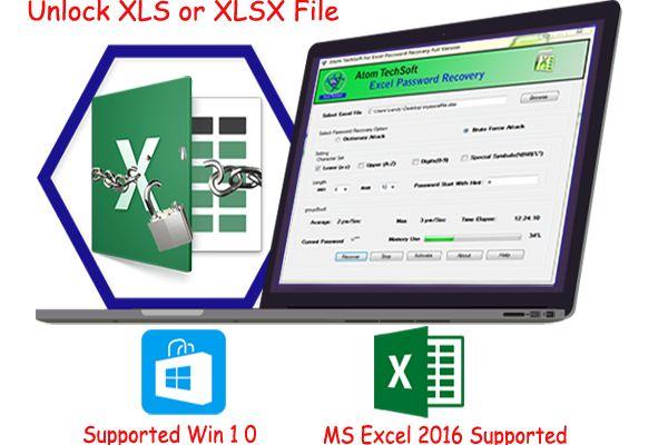Unlock Excel file speedily using Excel password unlocker tool This