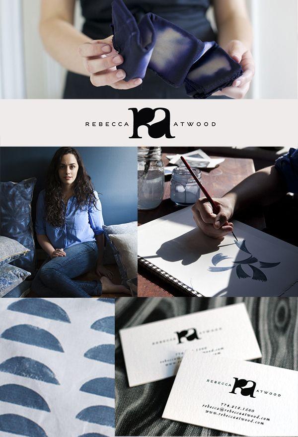 BRAND STYLED Rebecca Atwood, Textiles Designer -- The E List by Erika Brechtel, Brand Stylist