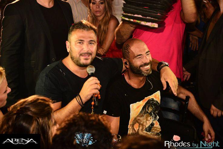 Antonis Remos @ Arena Live visiting Valadis