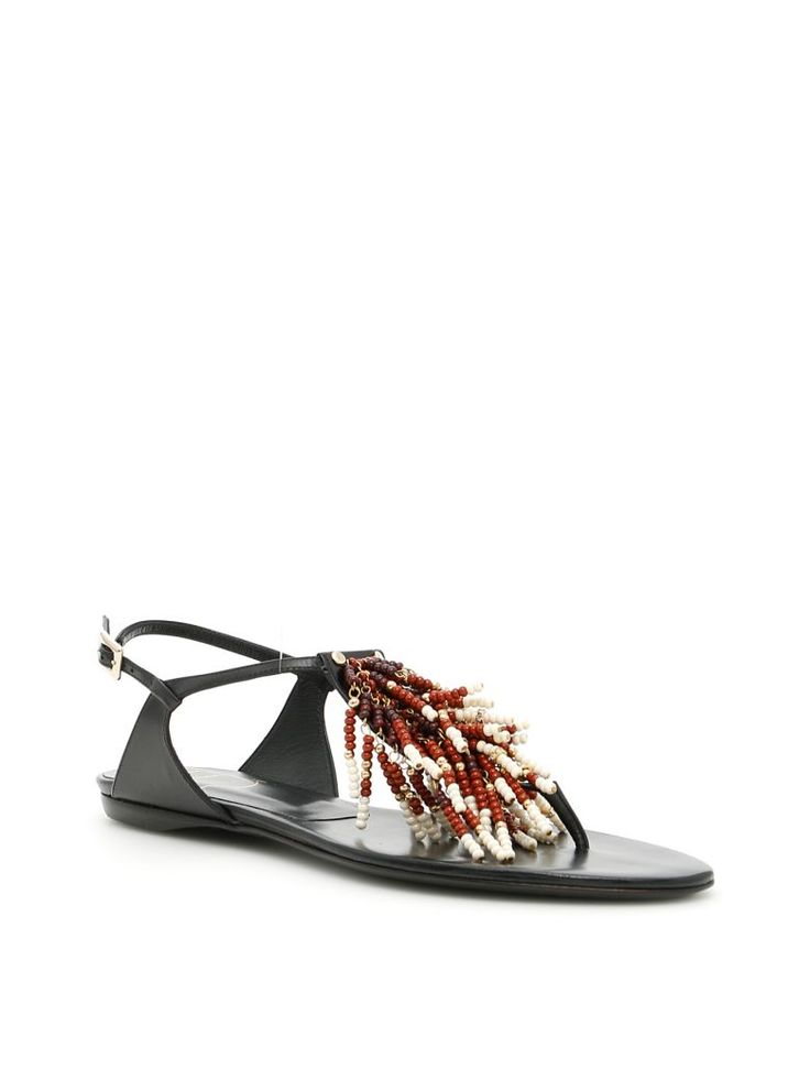 ROGER VIVIER Multicolor Reef Sandals. #rogervivier #shoes #