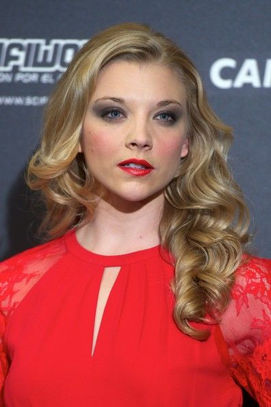 Natalie Dormer Hair - soft and romantic curls