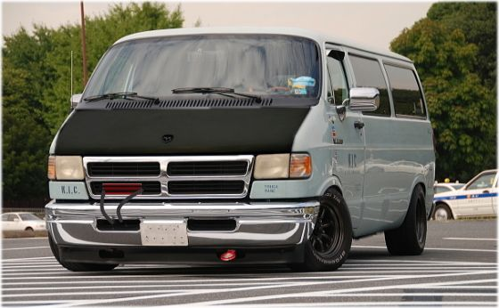 Cool Vans of the 70s | Japanese Combine Molester Vans and Racing to Create Something New!