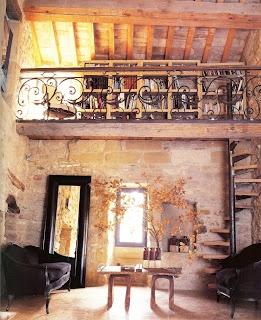 wrought iron loft
