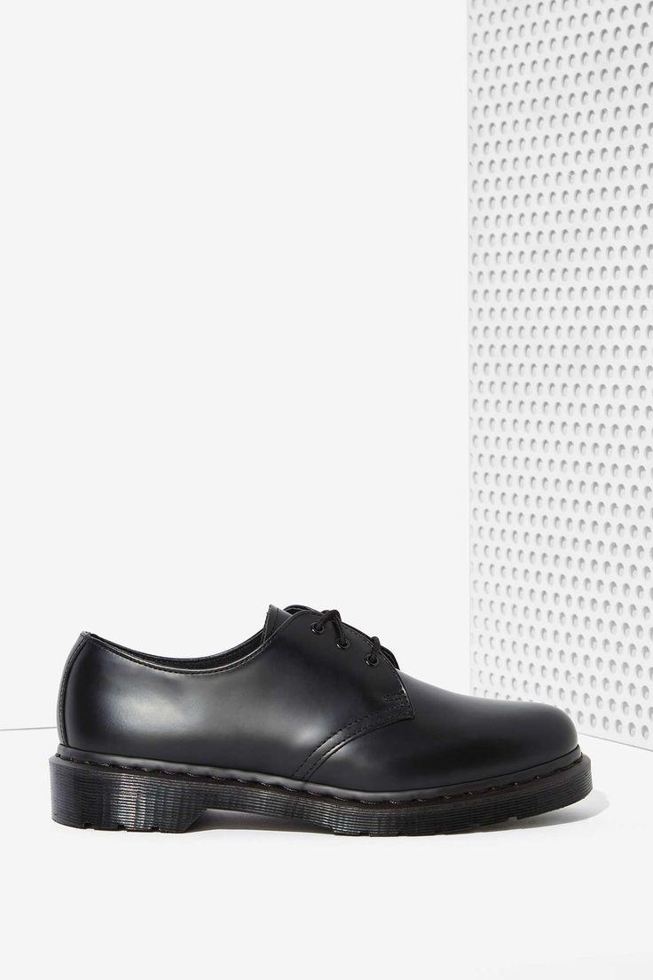 Dr. Martens 1461 3-Tie Leather Shoe - Black