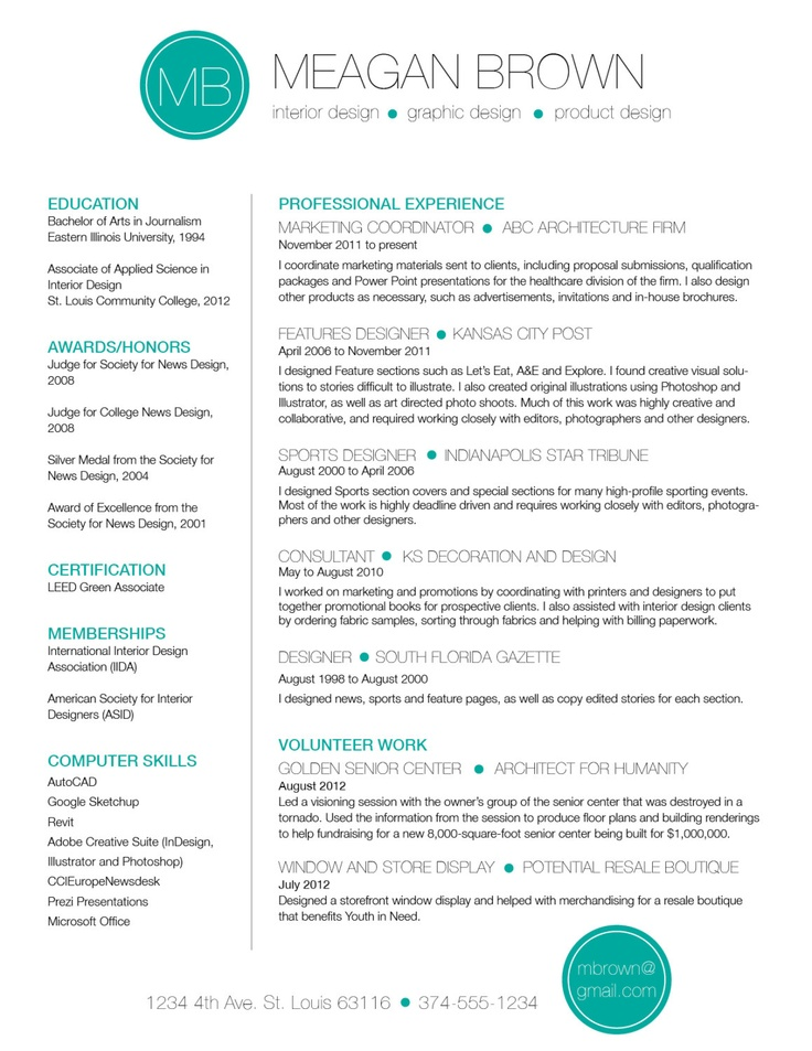 custom resume and cover letter template color circle initials 4500 via etsy - Custom Resume Templates
