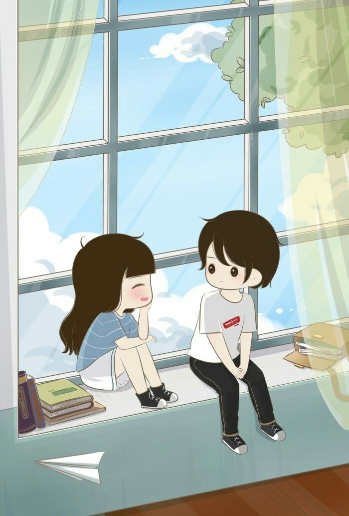 I Will Listen To You 24 7 I Will Smile But Never Get Tire Of You Cute Couple Wallpaper Cute Love Cartoons Love Cartoon Couple