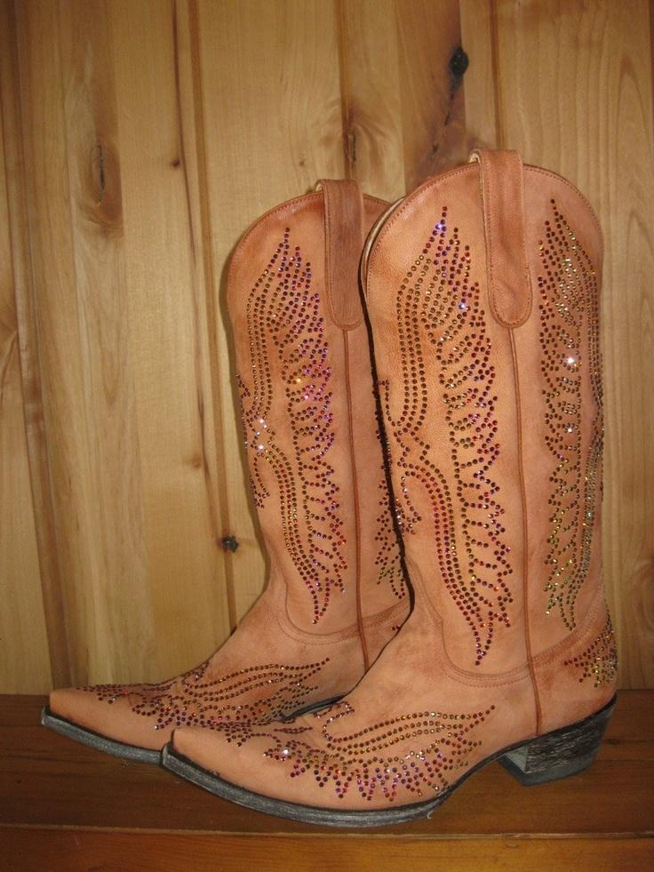 Rivertrail Mercantile - Old Gringo Eagle Swarovski Mango Boots, $1,100.00 (http://www.rivertrailmercantile.com/old-gringo-eagle-swarovski-mango-boots/)
