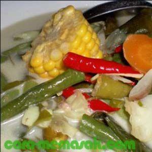 Resep cara membuat sayur lodeh - Resep Membuat