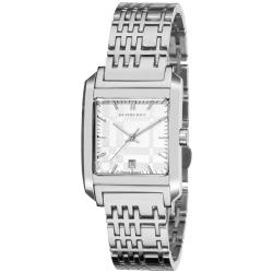 WANT!!!   Burberry Women's 'Nova Check' Stainless Steel Square Watch: Bracelet Watch, Checked Stainless, Case Stainless, Burberry Women S, Nova Checked, Stainless Steel Bracelet, Bu1572 Nova, Watch Burberry