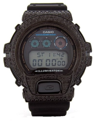 Casio | Casio G-Shock Custom 4.50 ct Black Diamond 466 pcs Mens Watch By Casio | REVIEW CASIO PRODUCTS