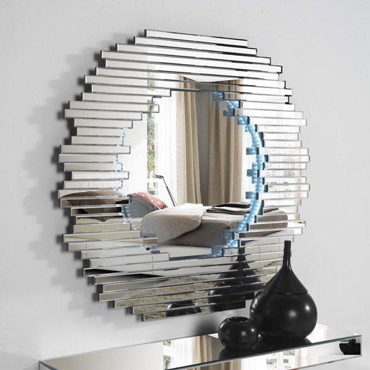 Espejos de cristal con luz led BRISA II. Decoracion Beltran, venta online de espejos de todos los estilos.