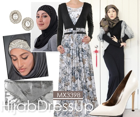 HijabDressUp # Silver style
