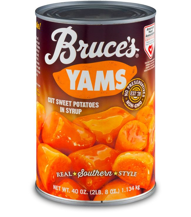 Bruce's Quick Candied Yams