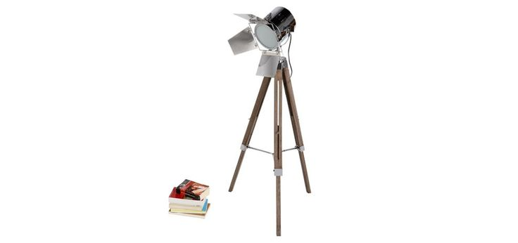 acheter lampadaire trepied projecteur metal