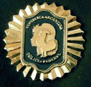 Argentina Federal Police Wallet Badge OBSOLETE