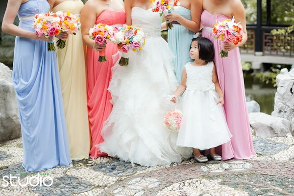 Contemporary Retro Brights V's Vintage Pastel Rainbow Wedding Ideas | http://www.vponsalewedding.co.uk/contemporary-retro-brights-vs-vintage-pastel-rainbow-wedding-ideas/