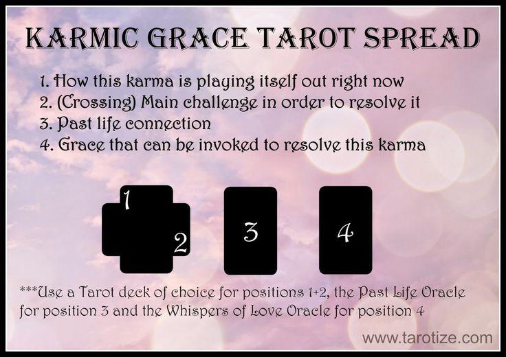 Tarotize - Holistic Tarot: Karmic Grace Past Life Tarot Spread and Sample Reading