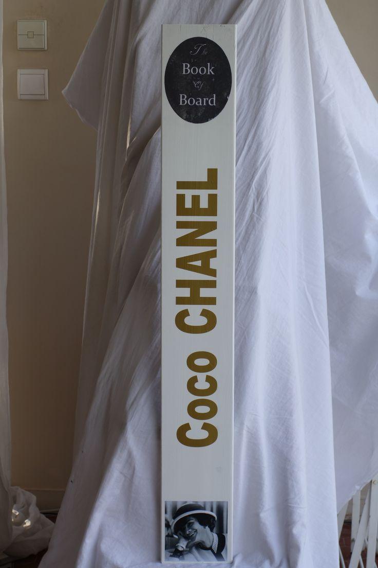book of board coco Chanel 105*17*1.5 cm