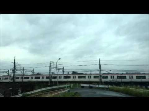 名鉄電車でタイムラプス