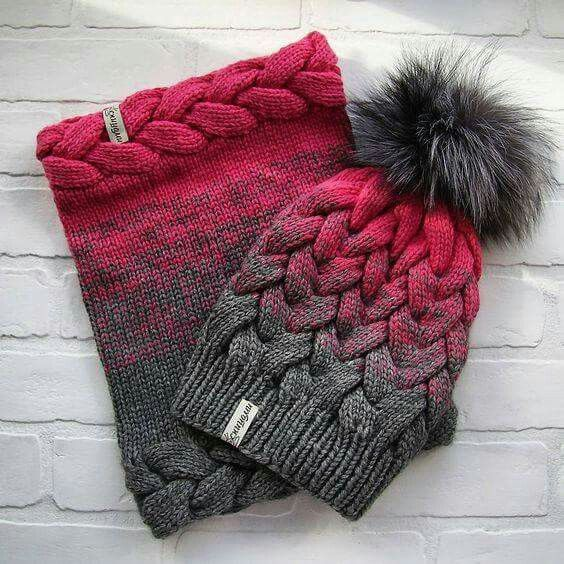 I love these and this yarn