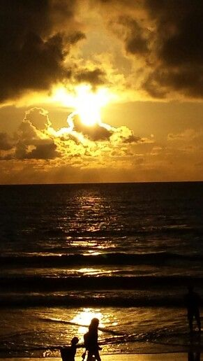 Phuket Patong Sun Setting