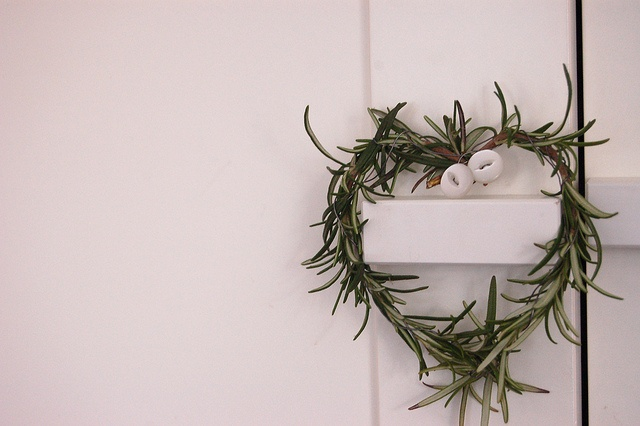 Mini Rosemary Heart Wreath Domesticali Blog Via Flickr