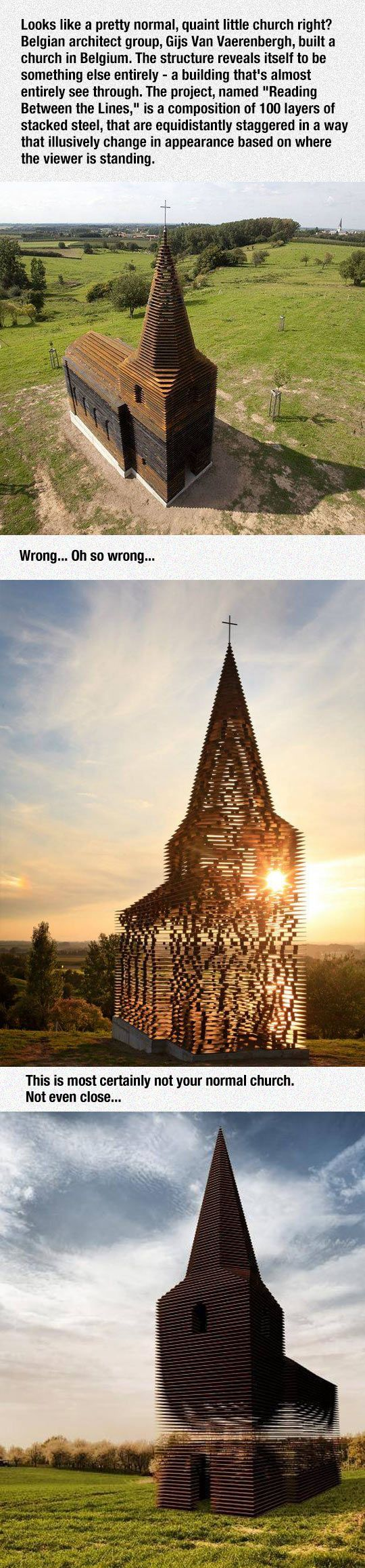 This Church In Belgium Was Brilliantly Designed