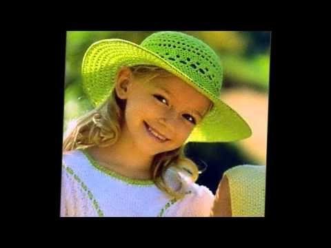 Летние шляпы крючком. Crocheted Summer Hats. Ամառային գլխարկներ հելունով - YouTube