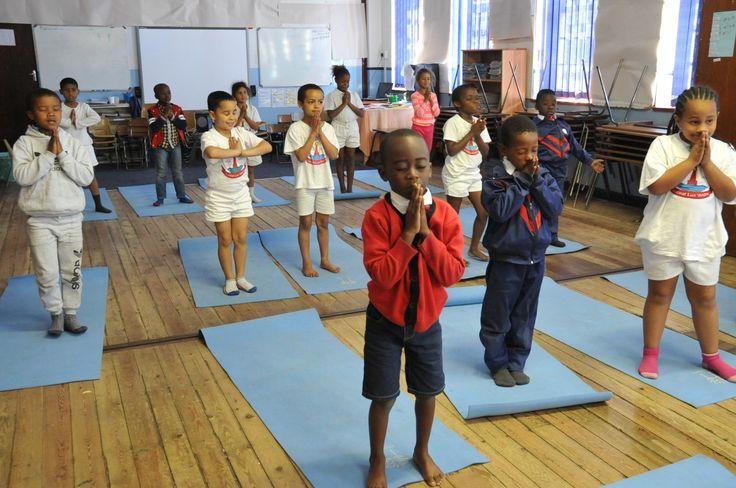 Yoga Kids St. James Primary School in Kalk Bay