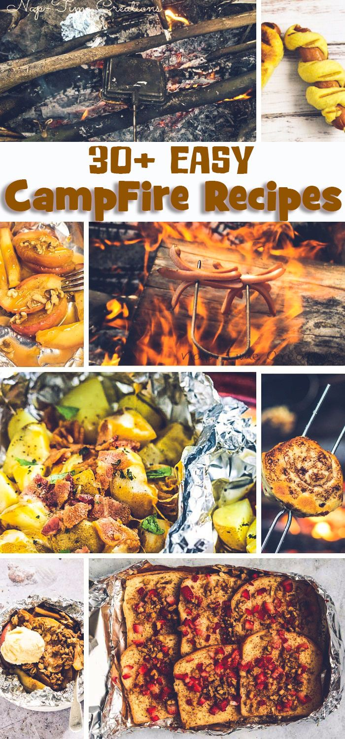 Easy Camping Recipes To Make Over The Campfire This Summer From