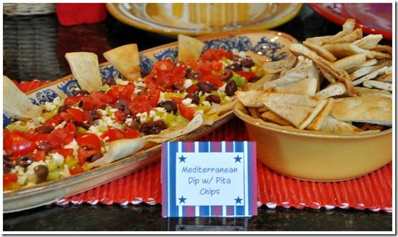memorial day cookout appetizers