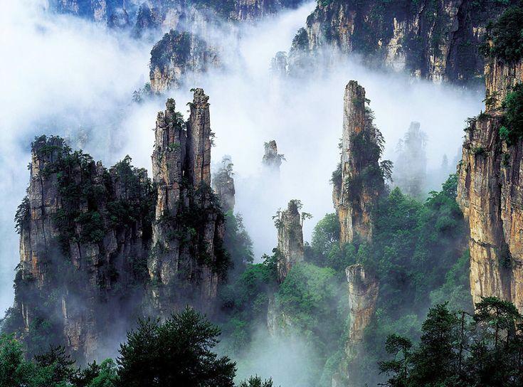 Zhangjiajie(simplified Chinese: 张家界; traditional Chinese: 張家界; pinyin: Zhāngjiājiè)