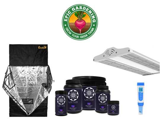 Chance to #Win a $1K #hydroponics starter #kit for #spring planting! #Giveaway contains #gear to #grow #indoor #home #food with #success. #Sweepstakes ends 03/20/18. No Purchase Necessary. See #contest rules. Referral: http://bit.ly/2FJXMSo