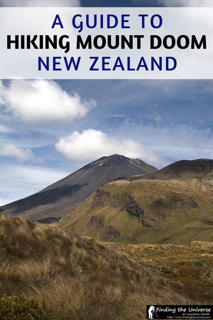 "Everything you need to know about climbing New Zealand's ""Mount Doom"" as part of the Tongariro Alpine Crossing - widely regarded as the best day hike in New Zealand. Includes walk advice, timings, what to expect, and stunning photography from the walk itself! #newzealand #hiking"