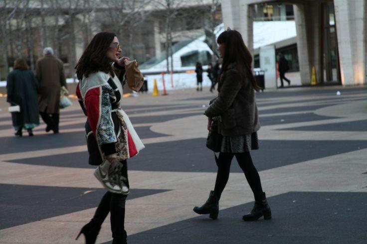 Fashion Week Street A/W14 NYC