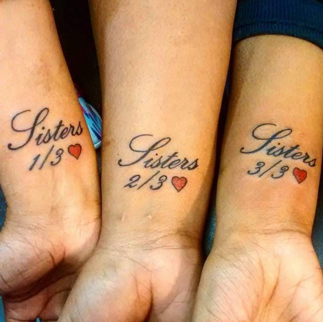 Siblings Tattoo For 3 Tattoos For Sisters And Brother Sister