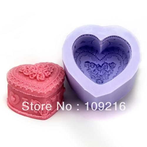 Aliexpress.com : Buy Free shipping!!!New Style 3D Cosmetic Box (LZ0102)  Silicone Handmade Candle/Soap Mold Crafts DIY Mold from Reliable Silicone Handmade Candle Mold suppliers on Silicone DIY Mold and  Home Supplies Store $15.28