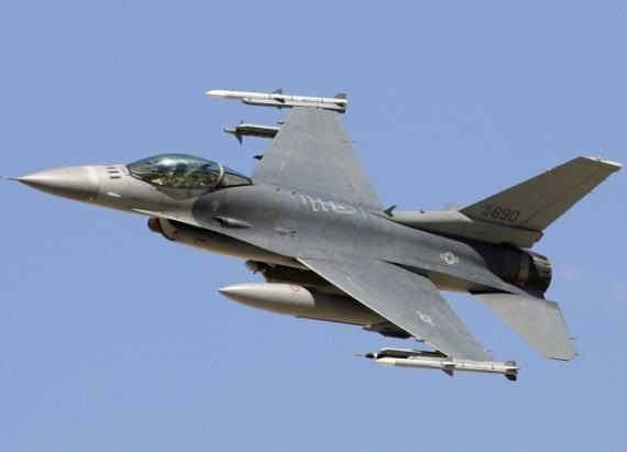 Air Force: Pilot of crashed F-16 ejected to safety