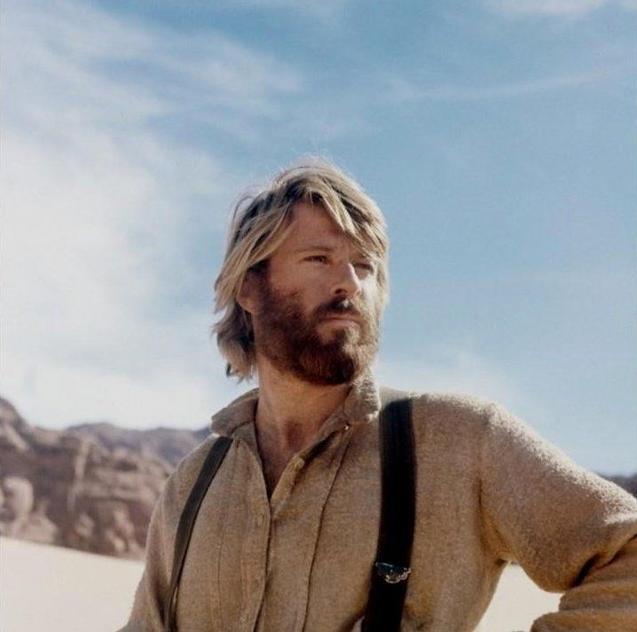 """Robert Redford starred in the movie """"Jeremiah Johnson"""" in 1972."""