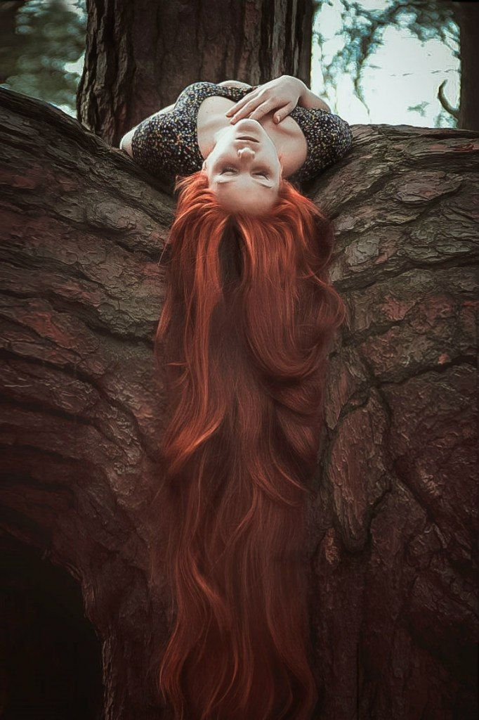 """In my youth, I was like a real-life Rapunzel, only with red hair instead of…"