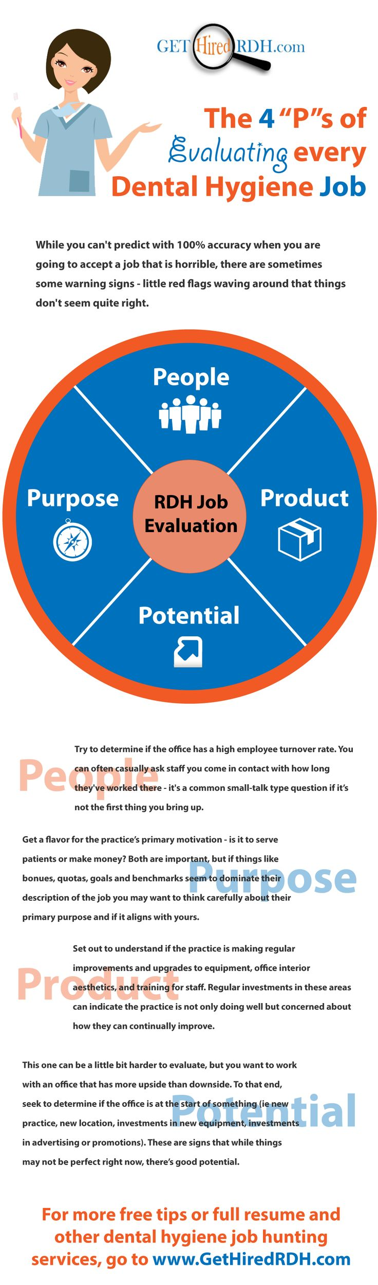 Find This Pin And More On Rdh Job Hunting Tips