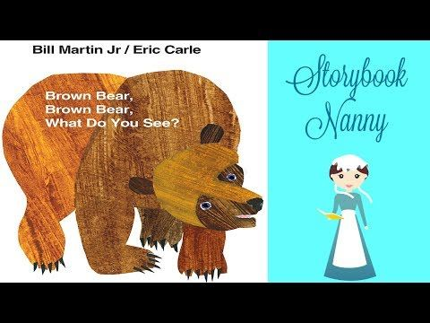 brown bear brown bear read aloud