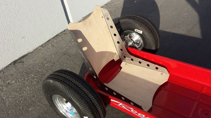 Little Bomber Seat For Radio Flyer Wagon And Hot Rod