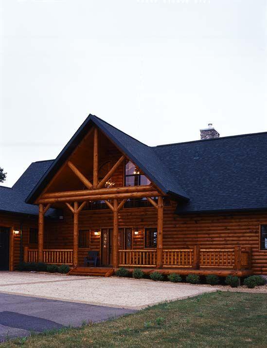 45 best images about wholesale log homes on pinterest for Modern log cabin homes