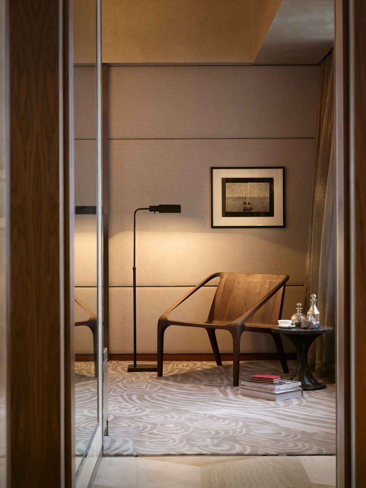 The Landmark Mandarin Oriental hotel guestrooms by Joyce Wang, Hong Kong…